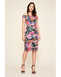 Tadashi Shoji - Bondi Floral Print Dress - Lyst