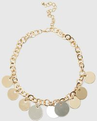 Roman - Gold Chain Necklace - Lyst