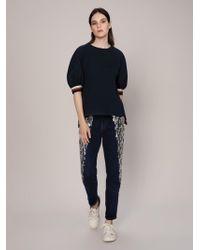Roman - Elastic Detailed Short Sleeve Shirt - Lyst
