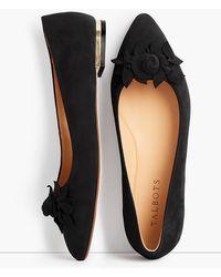 Talbots - Poppy Embellished Ballet Flats - Lyst