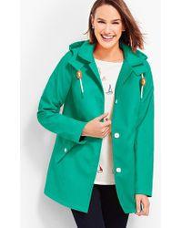 Talbots - The Classic Raincoat - Lyst