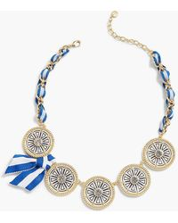 Talbots - Tile Statement Necklace - Lyst
