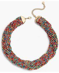 Talbots - Mardi Gras Necklace - Lyst