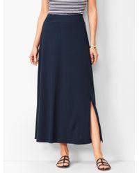 c6de0e873d48 Talbots Dot Swim Skirt - Miraclesuit® in Blue - Lyst