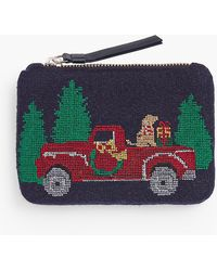 Talbots - Novelty Pouch - Red Truck - Lyst