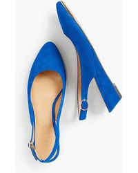 Talbots - Laney Slingback Wedges - Lyst