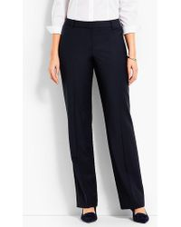 Talbots - Seasonless Wool Barely Boot Pant - Curvy Fit - Lyst