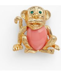 Talbots - Curious Monkey Brooch - Lyst