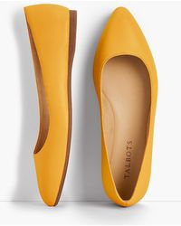 Talbots - Poppy Pointed-toe Ballet Flats - Nappa Leather - Lyst