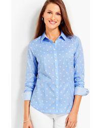 Talbots - The Perfect Shirt - Dots - Lyst