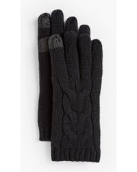 Talbots - Soft Cable Touch Gloves - Lyst