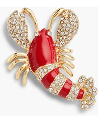 Talbots - Lobster Brooch - Lyst