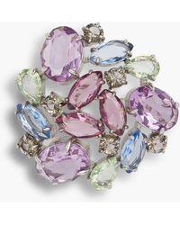 Talbots - Pastel Jeweled Brooch - Lyst