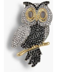Talbots - Holiday Brooch Collection - Snowy Owl - Lyst