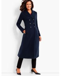 Talbots - Cashmere Officer's Coat - Lyst