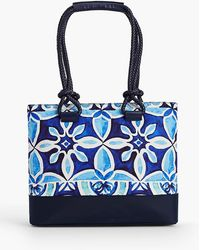 Talbots - Rope-handle Print Tote - Lyst
