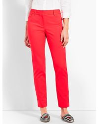 Talbots - Hampshire Ankle Pant - Lyst