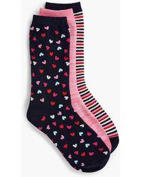 Talbots - Three-pair Trouser Sock Set - Lyst