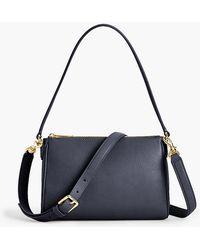 Talbots - Two-way Pebble Leather Crossbody Bag - Lyst