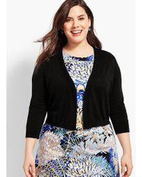 Talbots - Plus Size Exclusive Classic Dress Shrug - Lyst