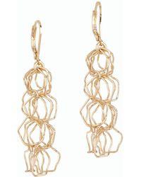 Talbots - Light Chain-link Earrings - Lyst