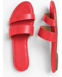 Talbots - Sadie Slides-bright Colours - Lyst