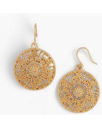 Talbots - Filigree-drop Earrings - Lyst