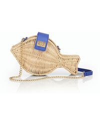 Talbots - Wicker Fish Shoulder Bag - Lyst