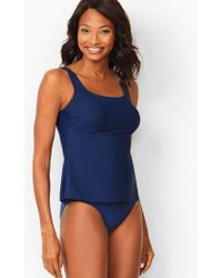 e0239807520d2 Talbots Miraclesuit(r) Cabana Tankini Top in Blue - Lyst