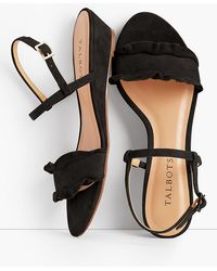 Talbots - Capri Wedge Sandals - Lyst