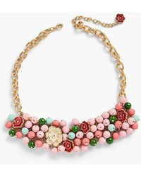 Talbots - Desert Blooms Statement Necklace - Lyst
