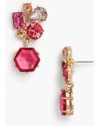 Talbots - Cluster Earrings - Lyst