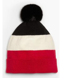 Talbots - Colorblocked Knit Beanie - Lyst