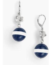 Talbots - Beaded Globe Earrings - Lyst