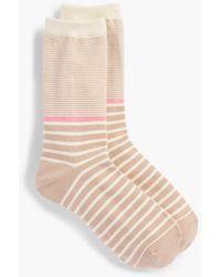 Talbots - Multi-bretton Stripe Trouser Sock - Lyst