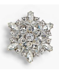 Talbots - Holiday Brooch Collection - Large Snowflake - Lyst