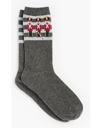 Talbots - Nutcracker Trouser Socks - Lyst