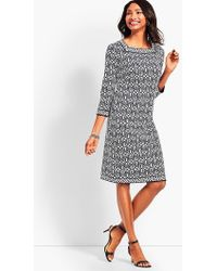 Talbots - Casting Tiles Shift Dress - Lyst