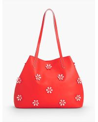 Talbots - Plano All-over Flower Tote - Lyst