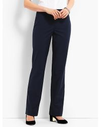 Talbots - Seasonless Wool Subtle Bootcut Trouser - Lyst
