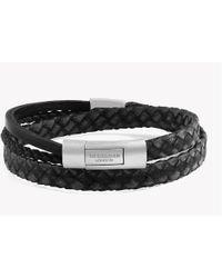 Tateossian - Cobra Doppio Silver Bracelet - Lyst