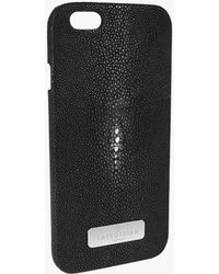 Tateossian - Stingray Iphone 6 Case In Black - Lyst