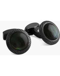 Tateossian - Moonlight Bullseye Cufflinks - Lyst