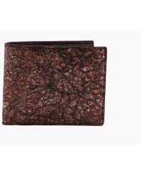 Tateossian - Washi Wallet In Brown - Card Pockets - Lyst