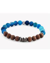 Tateossian - Java Frost Silver Bracelet - Lyst