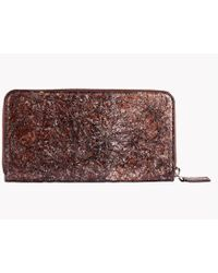 Tateossian - Washi Wallet In Brown - Long Wallet - Lyst