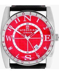 Tateossian - Gulliver Sport Watch In Red - Lyst
