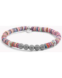 Tateossian - Seychelles Mesh Silver Bracelet - Lyst