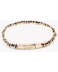 Tateossian - Mini Click Silver Beads Bracelet - Lyst