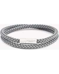 Tateossian - Rt Rubber Cable Bracelet - Lyst